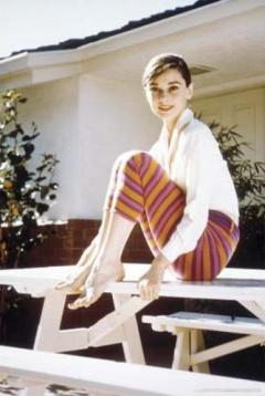 Audrey-Hepburn--Stripes